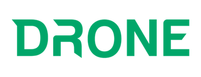 Drone logo in green